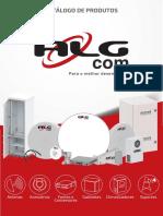 Catálogo Antenas e Rádios ALG COM