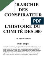 HIÉRARCHIE DES CONSPIRATEURS _ L'HISTOIRE DU COMITÉ DES 300