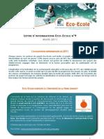 Lettre d'Information Eco-Ecole n9