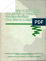 1997 - Detalhamento Da Metodologia Para Execucacao ZEE AmazoniaLegal [Becker e Egler]