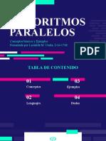 Algoritmos Paralelos - Semana 1