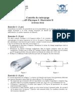 Electricité 02 Examens 04