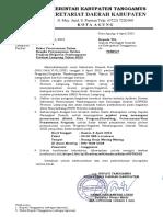 Srt-Rakor Penyusunan Usulan Prog Prov 2022