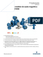 Magnetic Flowmeter - Emerson - 8700M