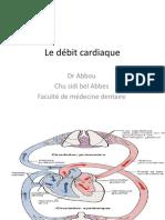 Le débit cardiaque SBA