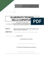 Fac-Simile Relazione Tecnica