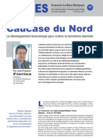 Caucase du Nord - Note d'analyse géopolitique n°17