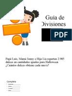 Guía de estudio Divisiones