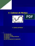 Cadenas de MarkovInicial