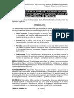 Metodologia de Practicas Profesionales (Opcion de Grado)