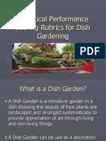 Analytical Performance Scoring Rubrics for Dish Gardening