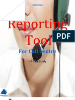 Reporting Tool for Call Centre - A Case Study