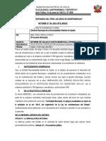 informe de conciliacion II