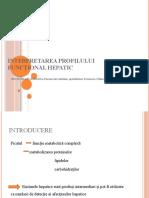 Determinarea parametrilor biochimici specifici în tiroidita autoimună - ppt