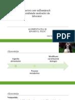 Factori Care Influențează Rezultatele Analizelor de Laborator Alexandra Iugan