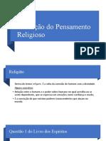 Roteiro 1 -Evolução do Pensamento Religioso 2021