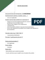 Liste de Concurrents (UE14)