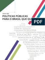 Politicas Publicas Brasil Que Queremos