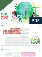 Informe Del Bono Verde 2020 Coca-Cola FEMSA