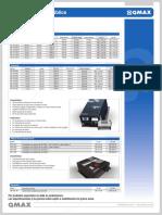 SM Lista de Precios QMAX Serie SM 01 2015_01