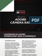 PDF Curso On-line de Edição de fotografia - BEPRO - Módulo 3