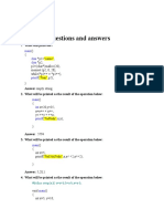 C interview questions and answers