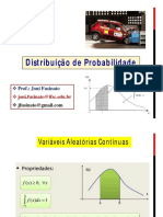 Aula 11 - Distribuição de Probabilidades Contínuas