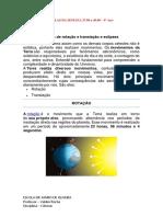 CIÊNCIAS 9° -  SEMANA 27 a 30.06 - Valden Rocha
