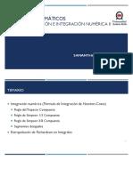 Clase 10 - Diferenciación e integracion numerica II