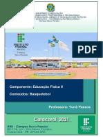 MATERIAL DE ESTUDO - HISTÓRIA DO BASQUETEBOL