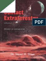 Steven Greer - Contact Extraterestru - Dovezi Si Consecinte - Vol 1
