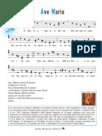 Ave Maria gregoriano