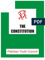 Constitution of the Pakistan Youth Council
