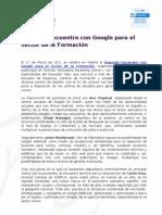 II Encuentro Formación Marketalia y Google