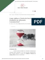 Como Aplicar a Teoria do Desvio Produtivo na Advocacia Consumerista_ - Ana Clara Suzart