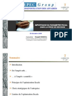 (Microsoft PowerPoint - Optimisation Fiscale