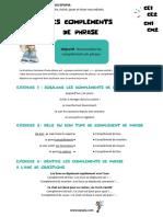 Complements-Phrase-CE1-CE2-CM1-CM2