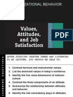 Attitudes,Value & Job Satisfaction-Prince Dudhatra-9724949948