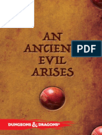 Campaña An_Ancient_Evil_Arises_-_Spanish