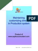 Customizing directly in Prod