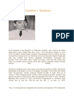 Biography of Ir. Soekarno