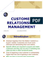 CRM(Customer Relationship Management-prince Dudhatra