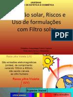 aula protetor solar