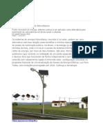 Projecto de poste de iluminacao