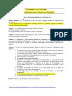 Loi sur education 1998