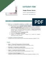 Currículum Vitae de Sergio Álvarez García