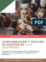 Curso_Conformación y Gestión de Equipos...