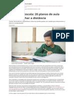 Leitura Na Escola 20 Planos de Aula Para Trabalhar a Distanciapdf
