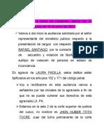 ALEGATOS DE PERTURA DE LAURA PADILLA