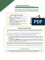 FICHA DE ACTIVACIÓN CONDUCTUAL 1